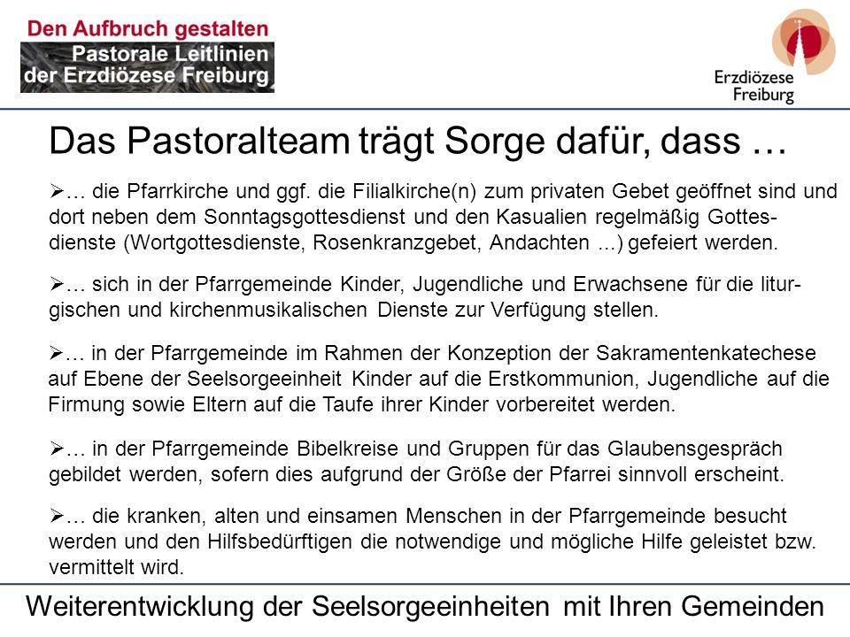 … die Pfarrkirche und ggf.
