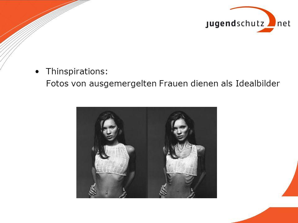 Thinspirations: Fotos von ausgemergelten Frauen dienen als Idealbilder
