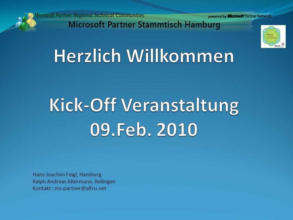 Hans-Joachim Feigl, Hamburg Ralph Andreas Altermann, Rellingen Kontakt : ms-partner@alfru.net