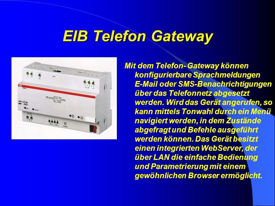 Produktvorstellung EIB- Telefon Gateway Eine Entwicklung der SEAL AG für ABB- Stotz Kontakt