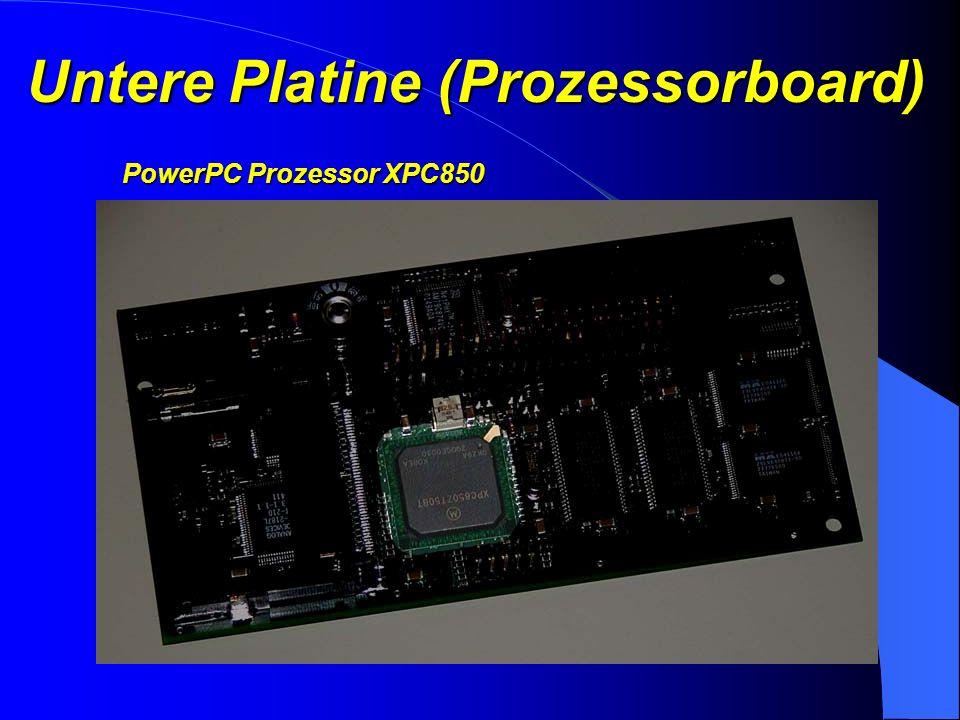 Untere Platine (Prozessorboard)