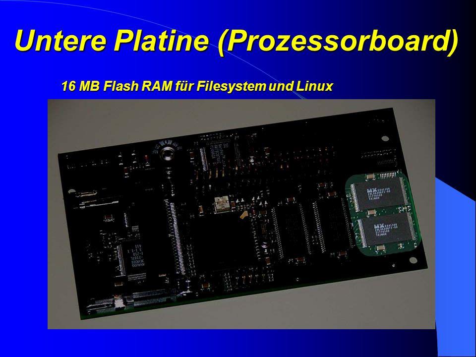 Untere Platine (Prozessorboard) 16 MB SD-RAM