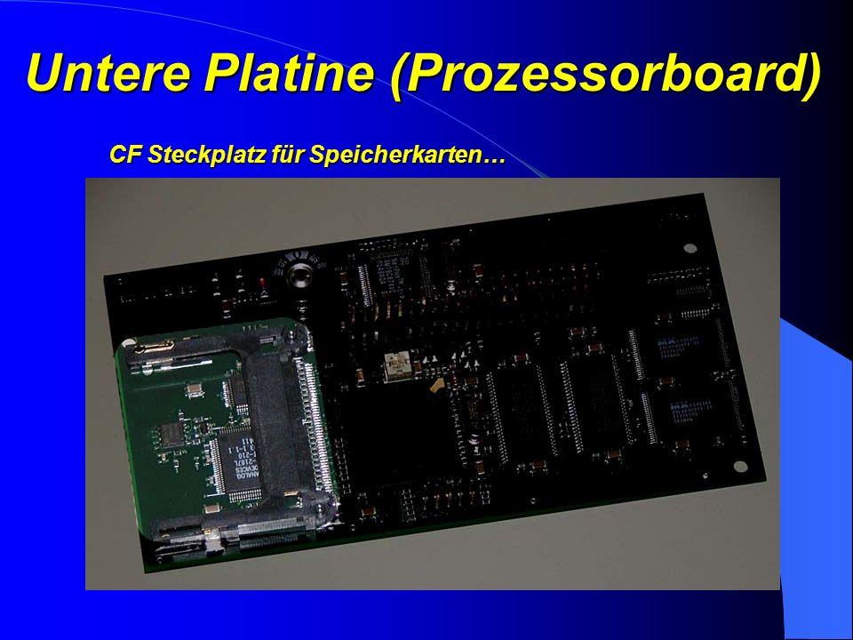 Untere Platine (Prozessorboard) Digitaler Signalprozessor für schnelle Modemfunktionen
