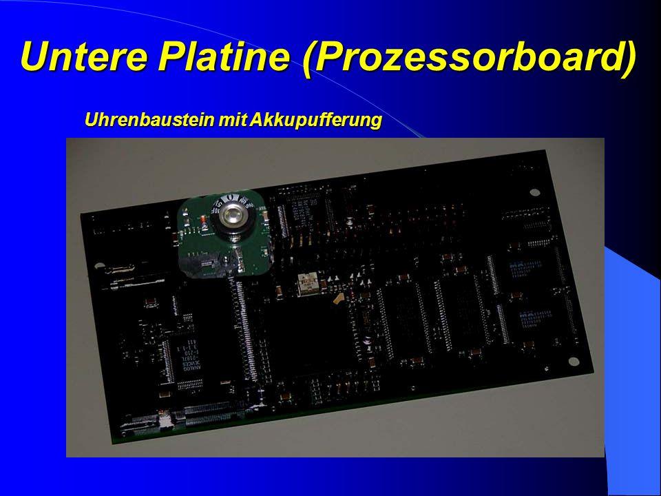Untere Platine (Prozessorboard) CF Steckplatz für Speicherkarten…