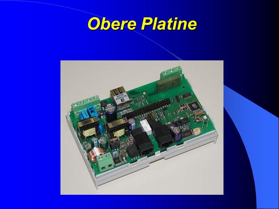 Untere Platine (Prozessorboard) Uhrenbaustein mit Akkupufferung