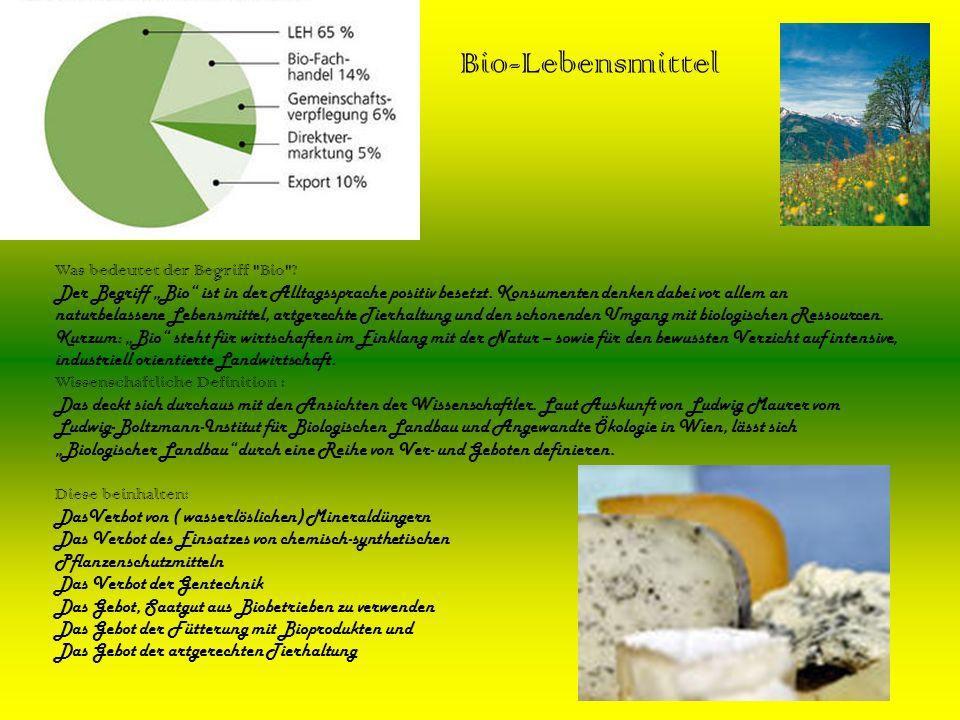 Bio-Lebensmittel Was bedeutet der Begriff