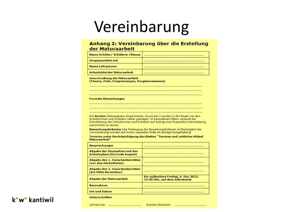 Vereinbarung Infoverantstaltung 3.Klassen Januar 2013