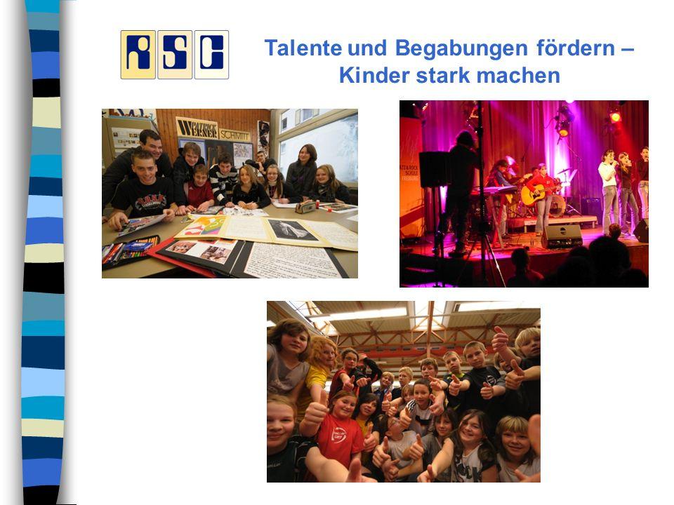 Talente und Begabungen fördern – Kinder stark machen