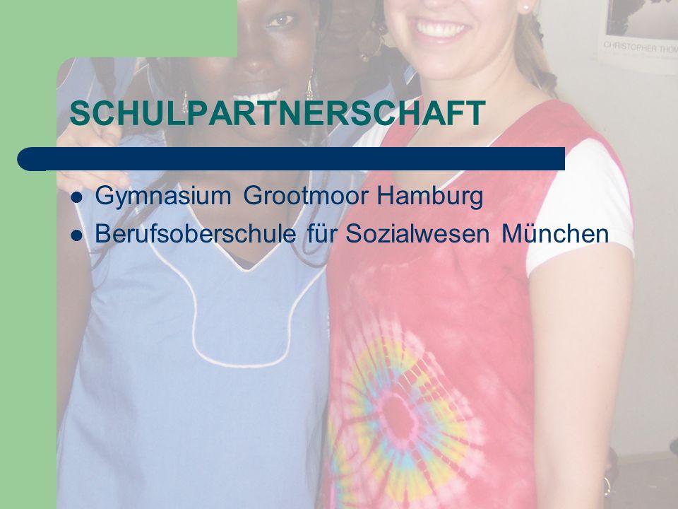 SCHULPARTNERSCHAFT Gymnasium Grootmoor Hamburg Berufsoberschule für Sozialwesen München