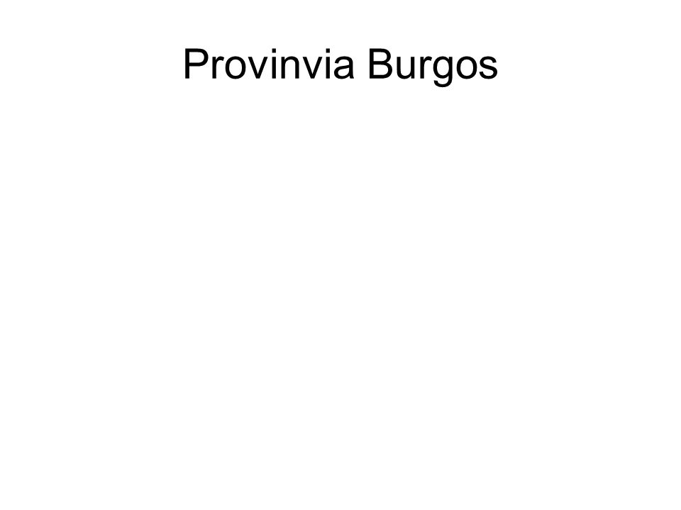 Provinvia Burgos