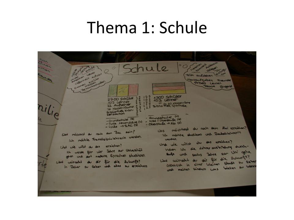 Thema 1: Schule