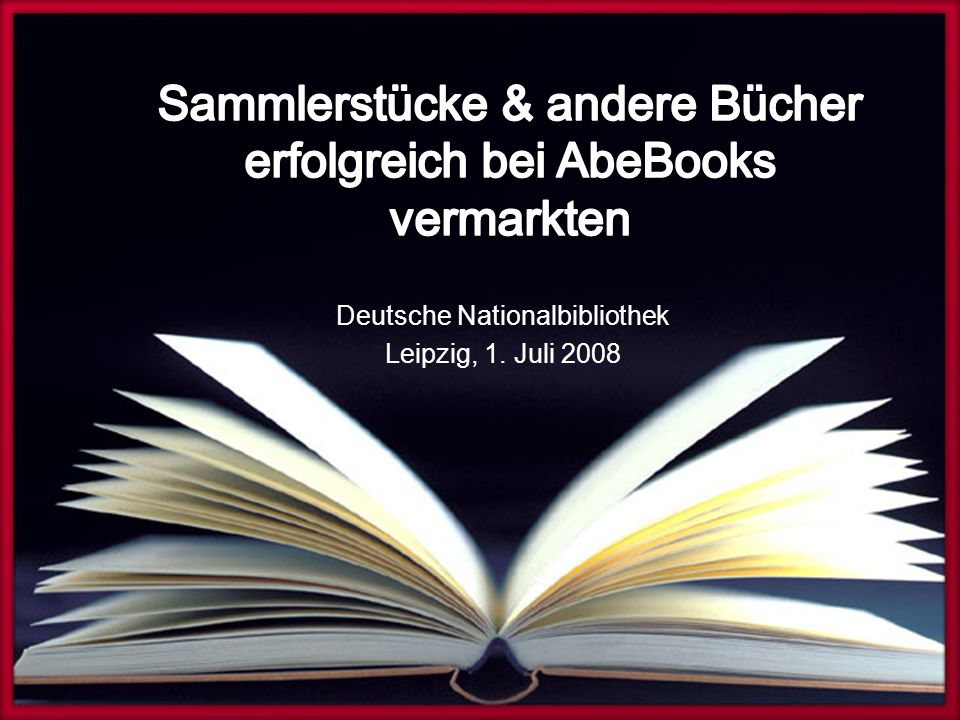 Deutsche Nationalbibliothek Leipzig, 1. Juli 2008