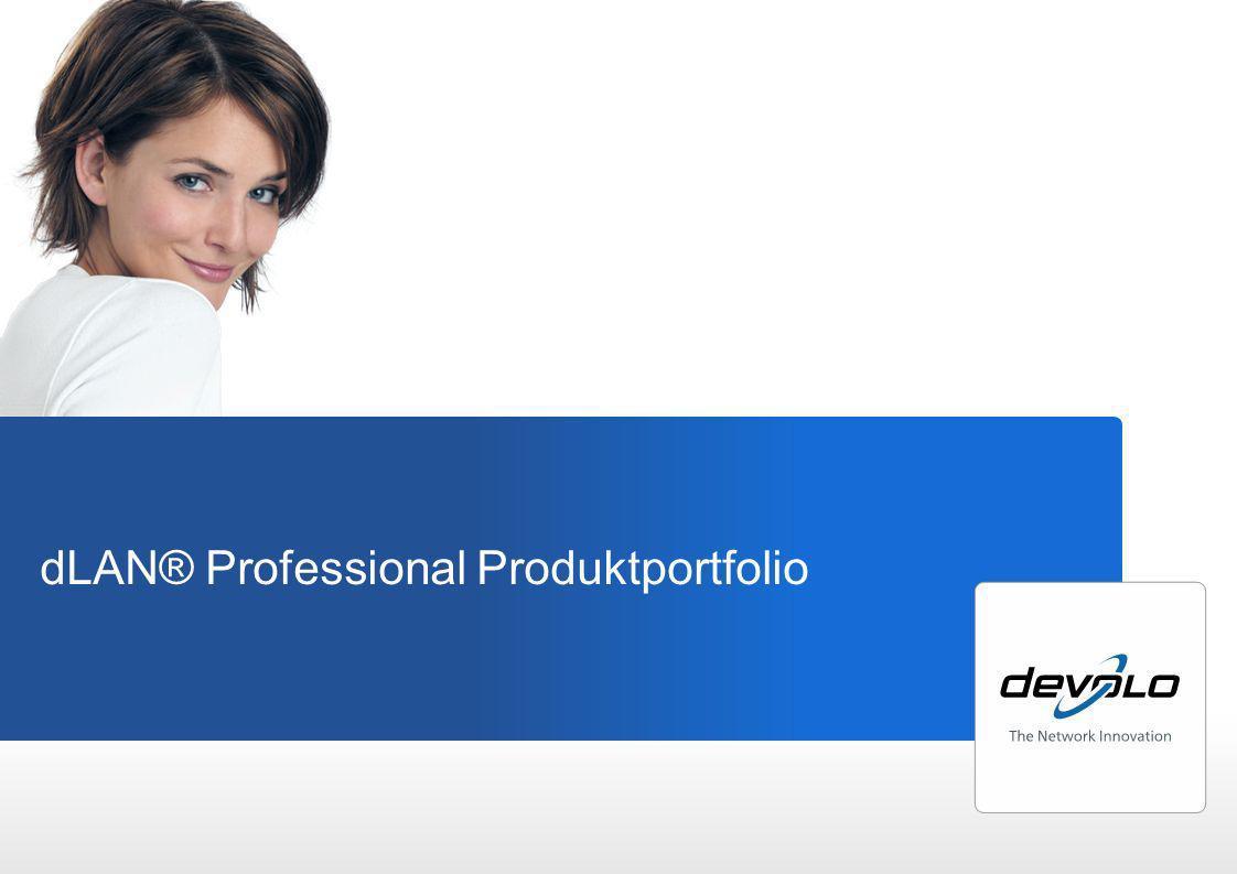dLAN ® home Entdecke die einfache Verbindung dLAN® Professional Produktportfolio