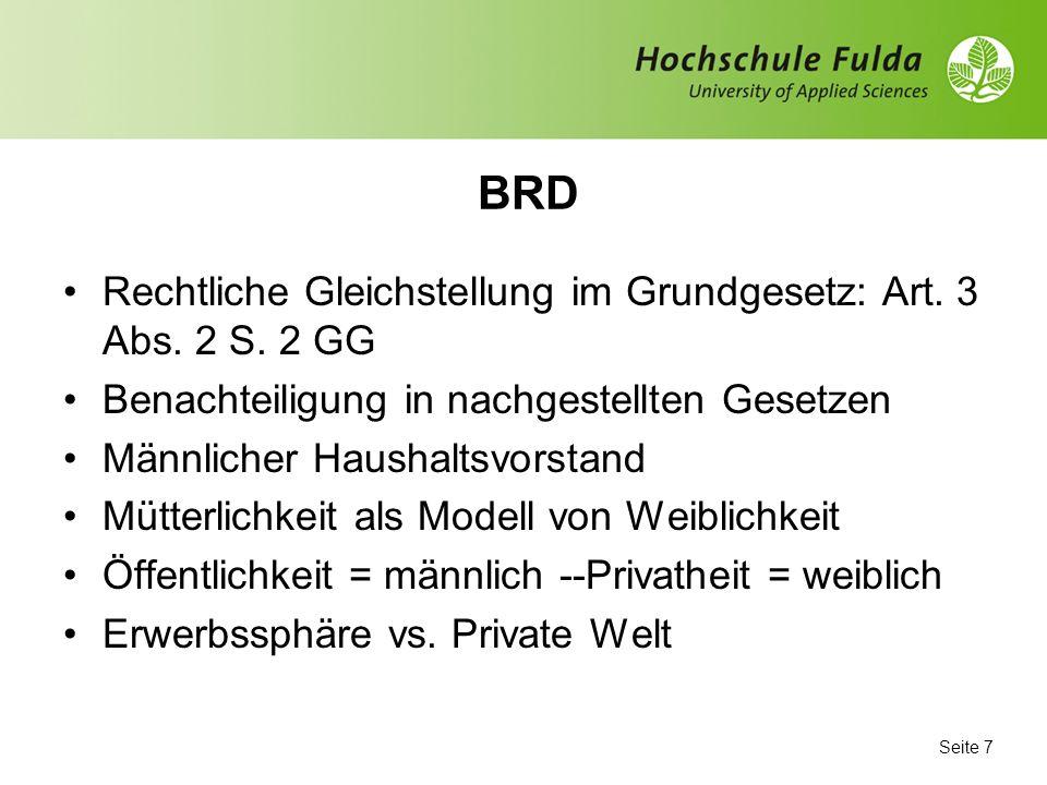 Seite 6 Hausarbeit DDR, Männer/ Frauen, Tab. Arcor Internetportal