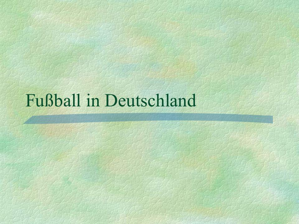 Frauen-Bundesliga 1955 gegründet; vorher verboten 12 Teams Spielerinnen stützen die Frauen- Nationalmannschaft