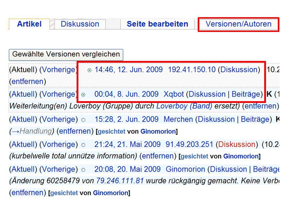 Wie soll die Schule mit der Wikipedia umgehen.