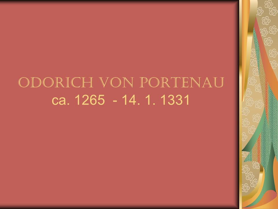 Sein Leben vor seinen Reisen Marco Polo wurde 1254 in Venedig geboren; Er war ein venezianischer Händler, dessen Familie aus Dalmatien stammte.