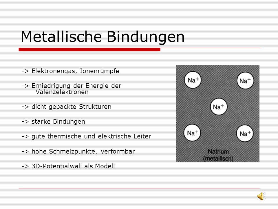 Polare Bindung, sigma- und pi- Bindung -> Polare Bindungen sind teilweise kovalent, teilweise ionisch, das elektronegativere Element hat mehr negative