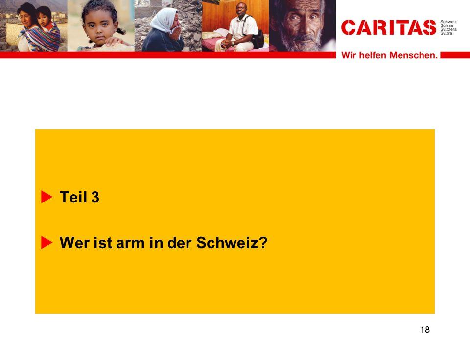 Teil 3 Wer ist arm in der Schweiz 18