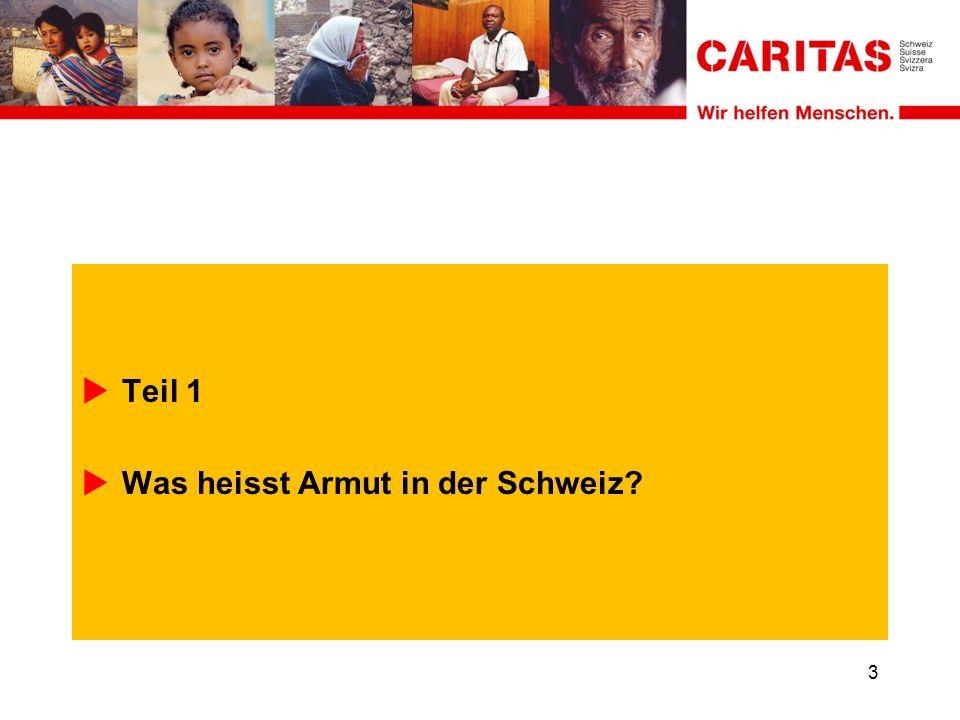 Teil 1 Was heisst Armut in der Schweiz 3