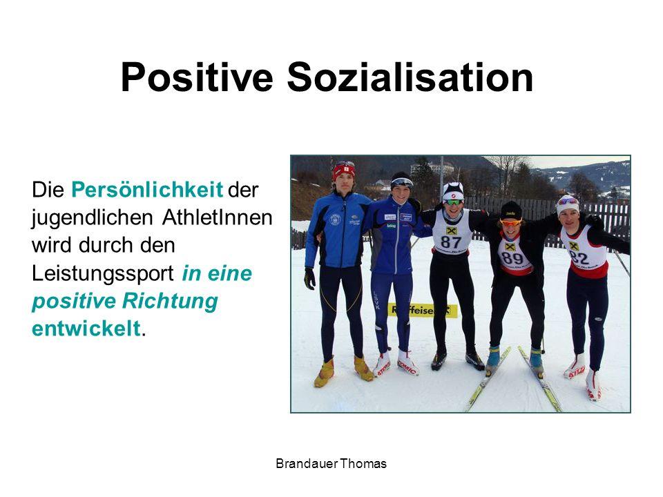 Brandauer Thomas physischpsychisch sozial Sport statt Drogen