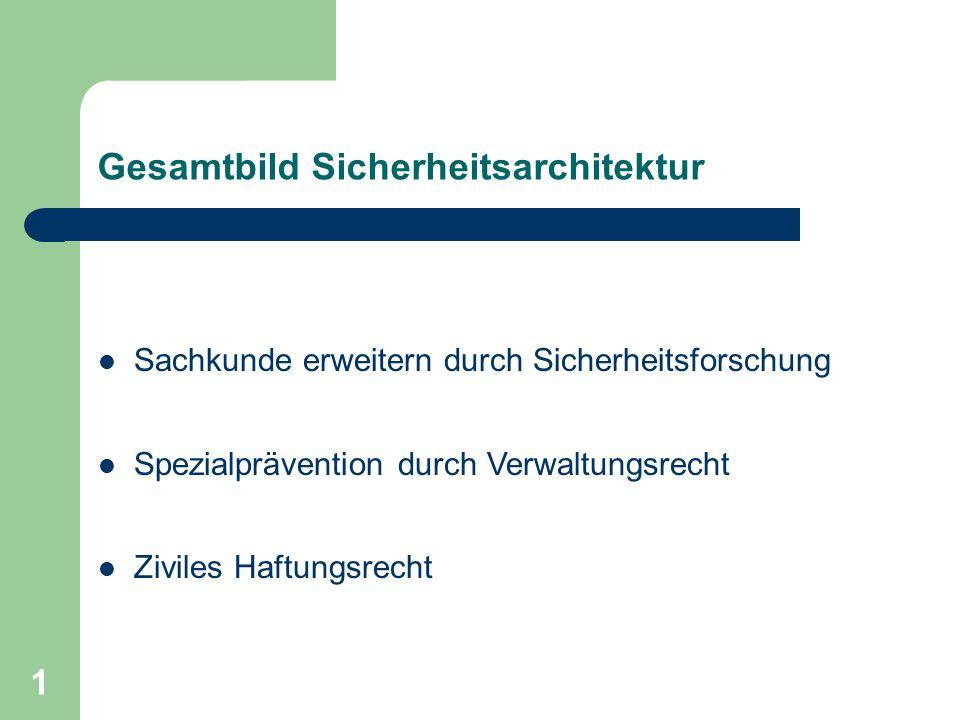 Haftungsrechtliche Aspekte in der deutschen Gesetzgebung Dr. Gernot Schubert Workshop: Product Liabilitiy of Nanomaterials in International Trade Bern