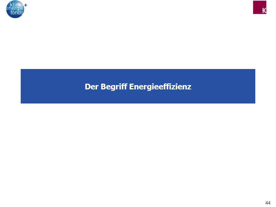 44 Der Begriff Energieeffizienz