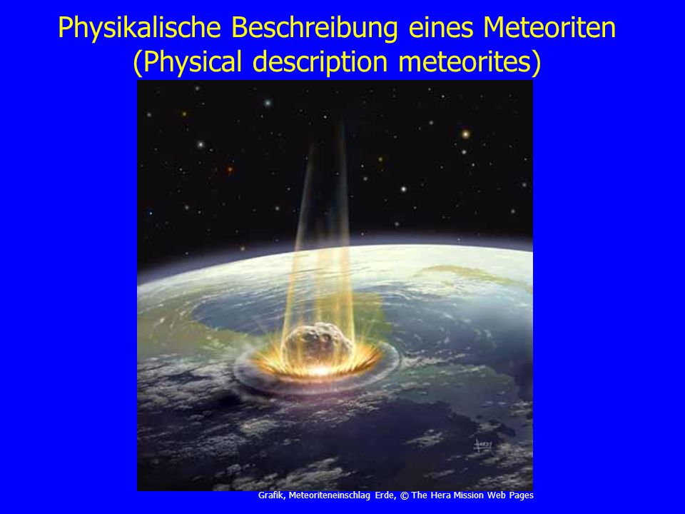 Meteor in der äußeren Erdatmosphäre (Meteor in the outside terrestrial atmosphere) Grafik, Meteor in Thermosphäre, © Don Dixon