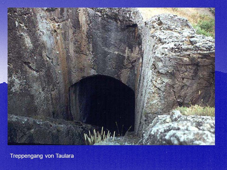 Treppengang von Taulara