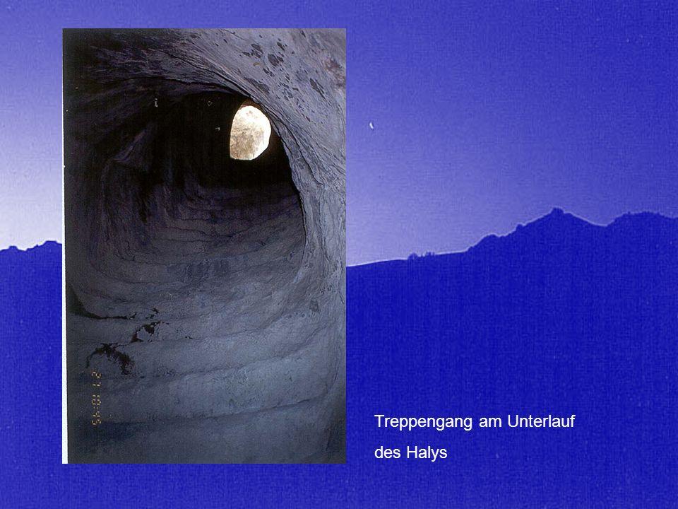 Treppengang am Unterlauf des Halys