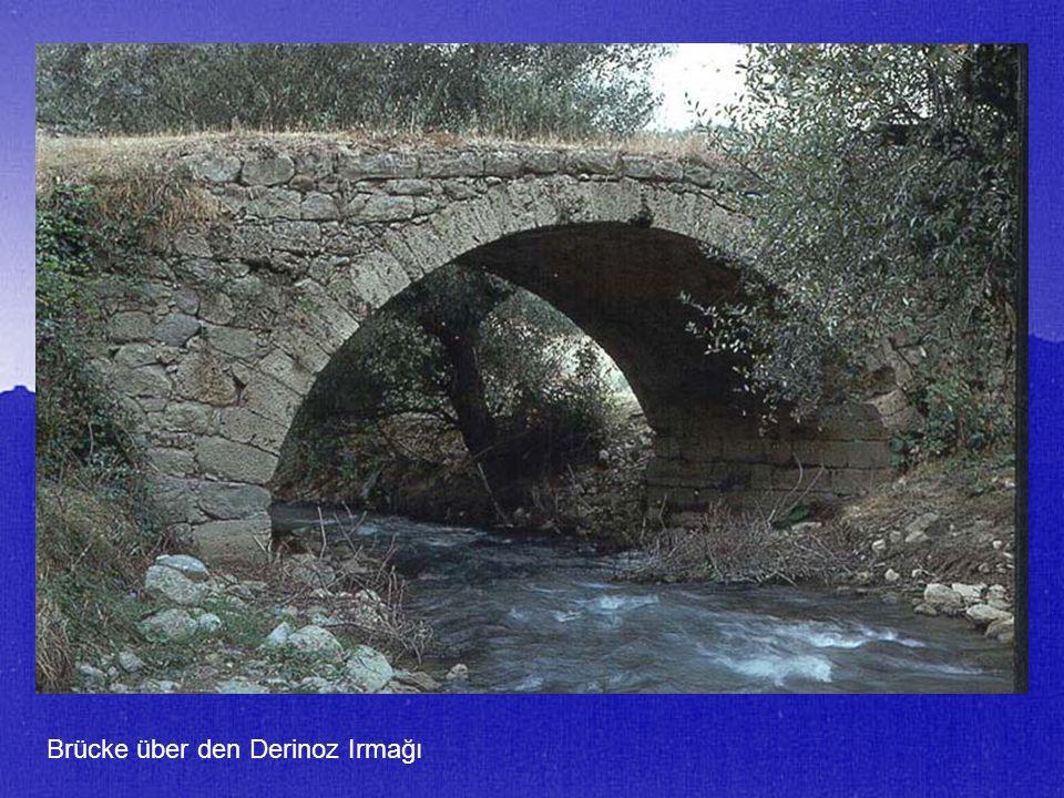 Brücke über den Derinoz Irmağı