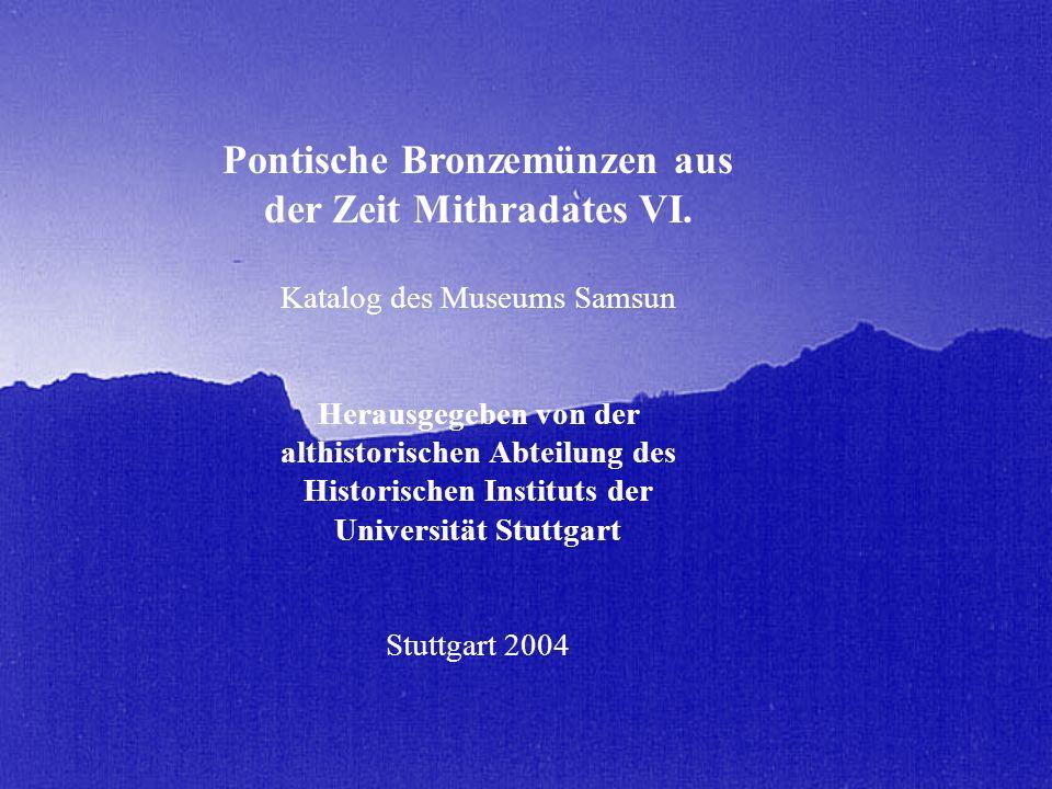 Pontische Bronzemünzen aus der Zeit Mithradates VI.