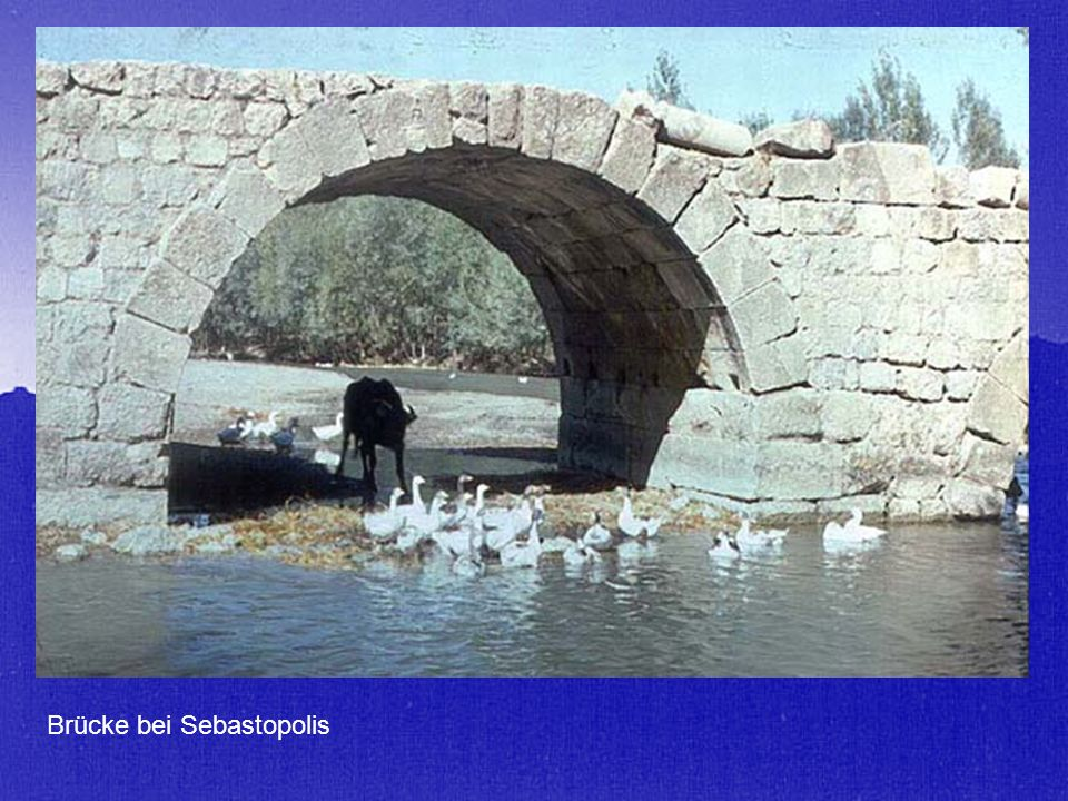 Brücke bei Sebastopolis