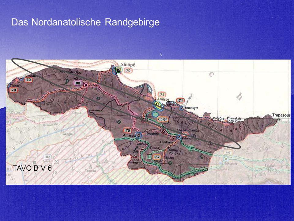 Das Nordanatolische Randgebirge TAVO B V 6