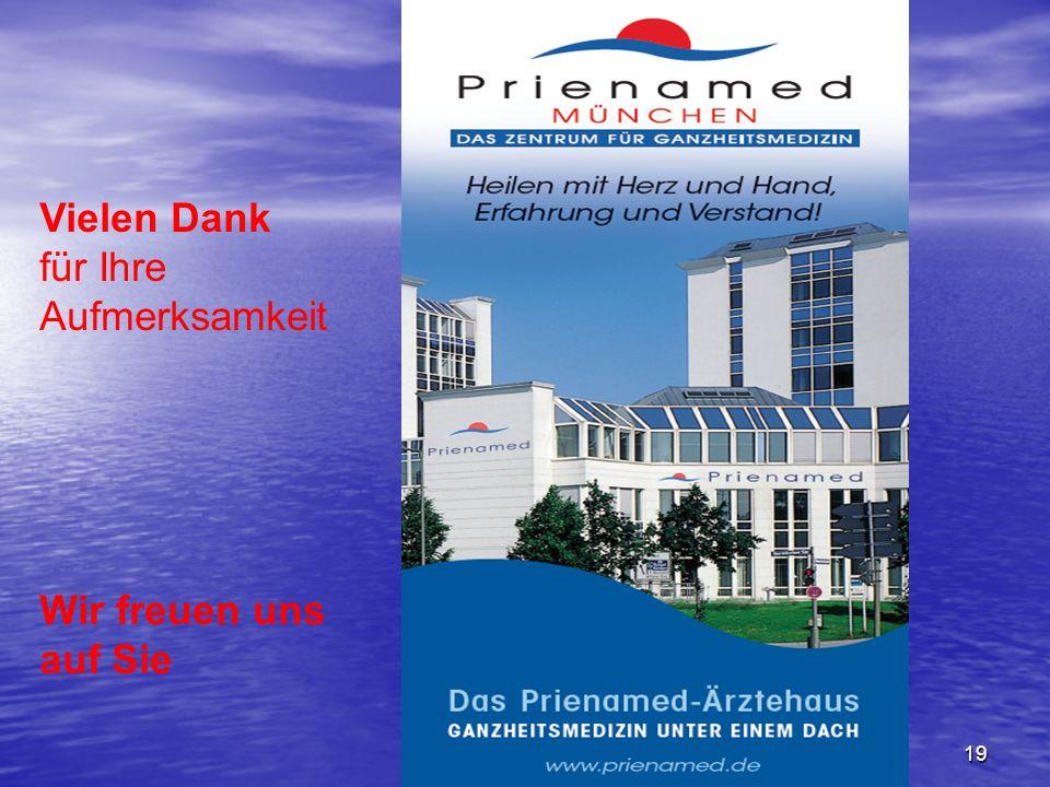 Dr.med. Frank Kuhlmann19 Vielen Dank für Ihre Aufmerksamkeit Wir freuen uns auf Sie