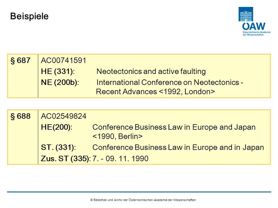 © Bibliothek und Archiv der Österreichischen Akademie der Wissenschaften Beispiele § 687AC00741591 HE (331):Neotectonics and active faulting NE (200b)