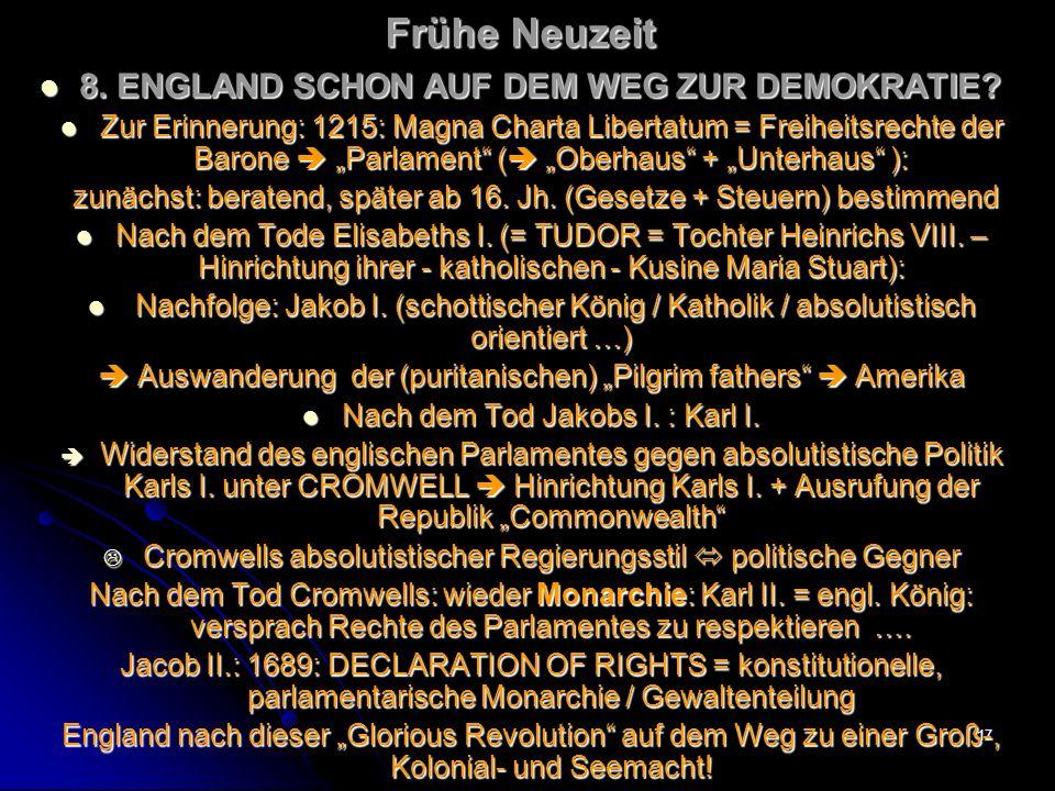 16 Frühe Neuzeit LUDWIG XIV.LUDWIG XIV.