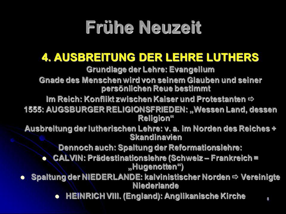 7 Frühe Neuzeit 3.REFORMATION Schon im 14.