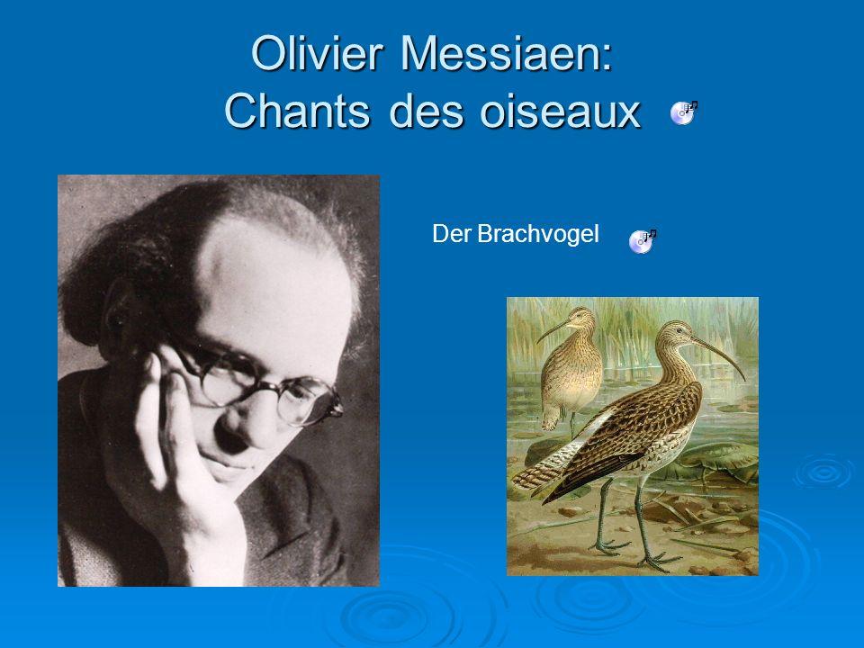 Olivier Messiaen: Chants des oiseaux Der Brachvogel