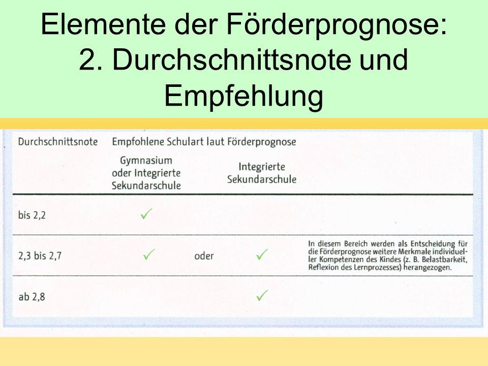Elemente der Förderprognose: 3. Kompetenzen