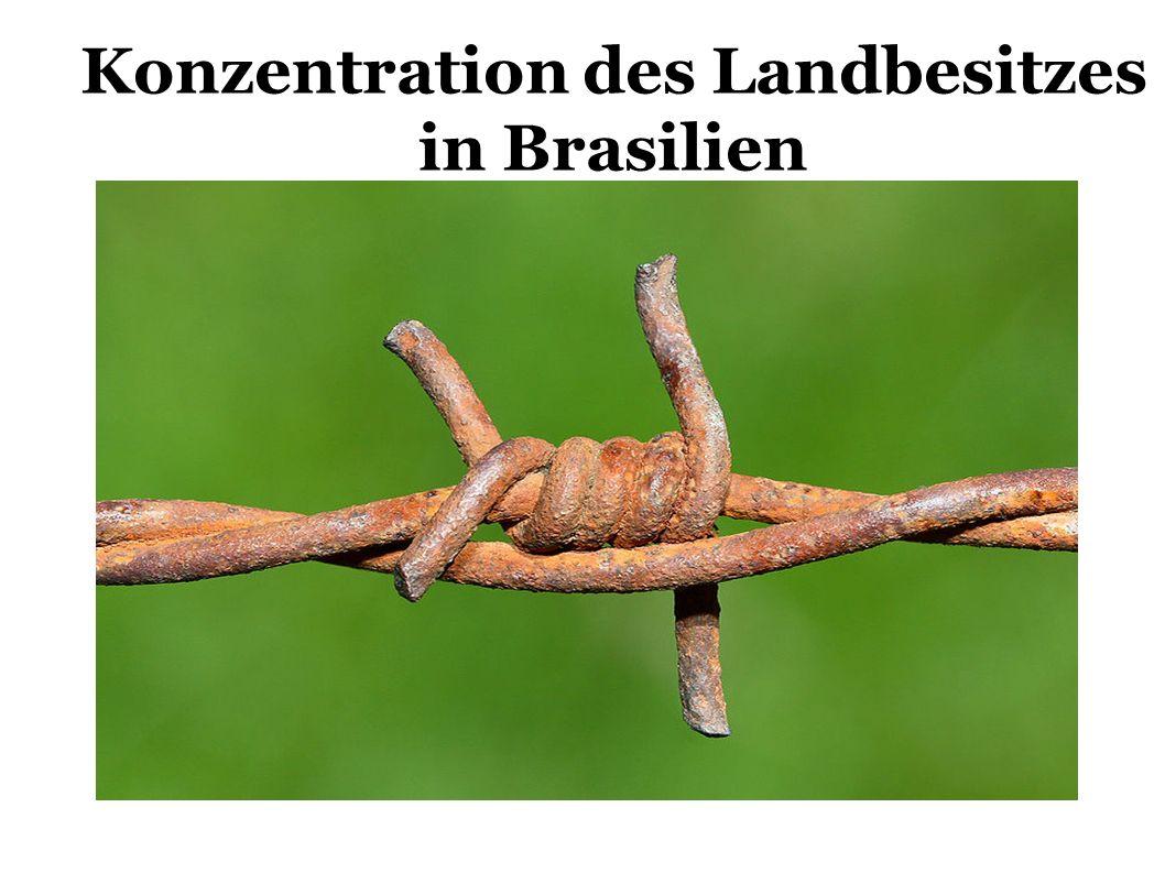 Konzentration des Landbesitzes in Brasilien