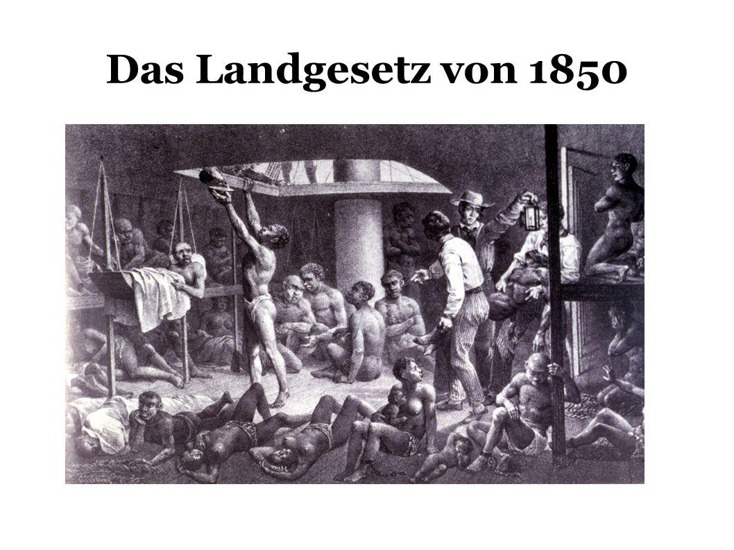 Das Landgesetz von 1850