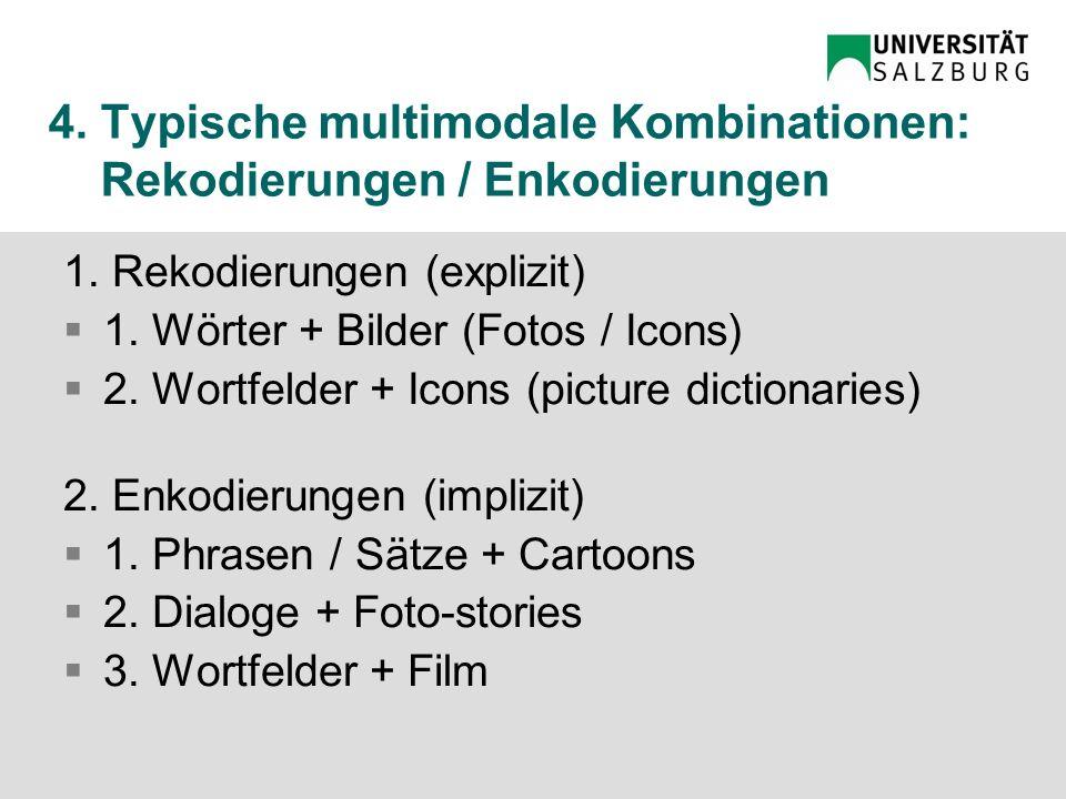 4.Multimodale Kombinationen Rekodierungen Enkodierungen