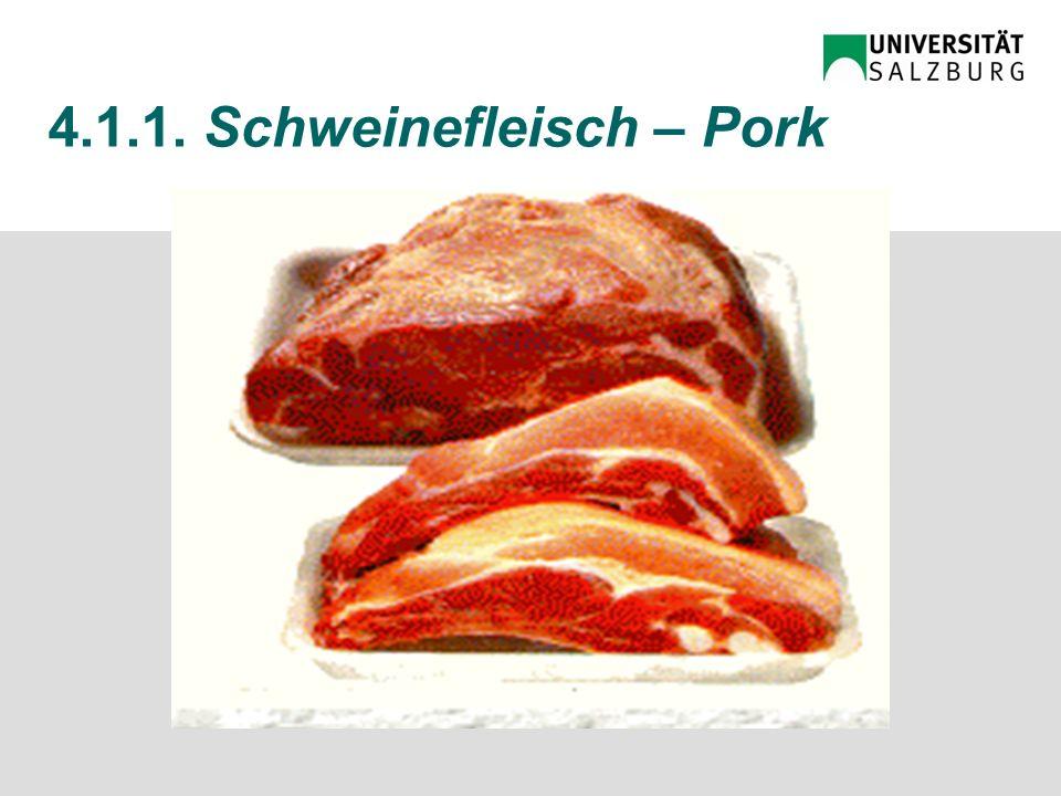4.1.1. Rindfleisch – Beef