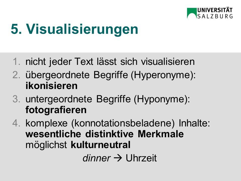 5. Schlussfolgerungen Visualisierungen Didaktik