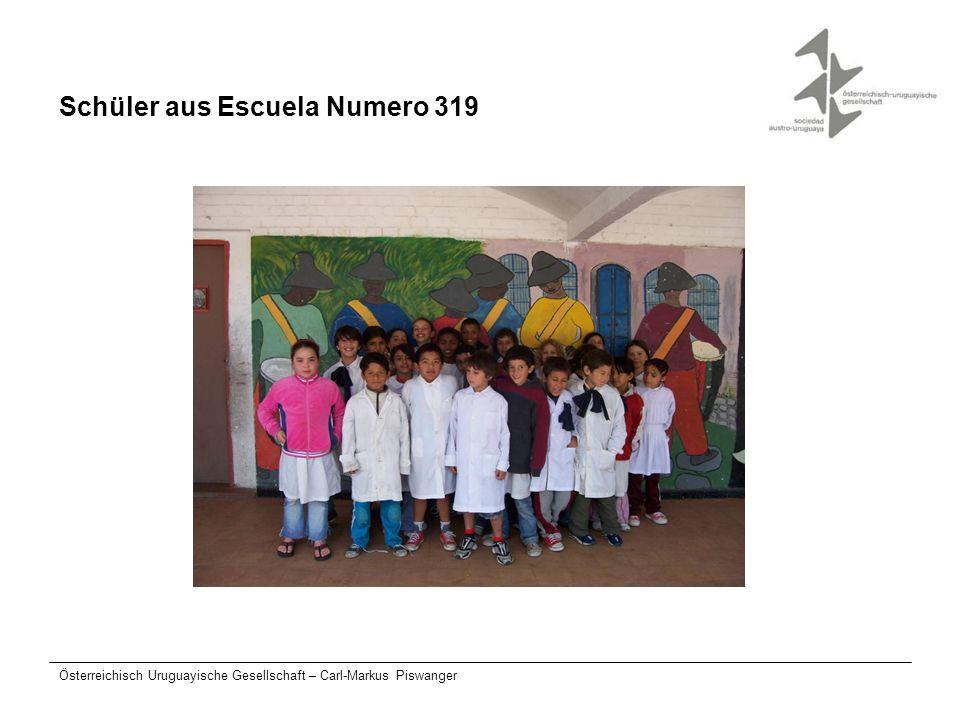 Österreichisch Uruguayische Gesellschaft – Carl-Markus Piswanger Schüler aus Escuela Numero 319