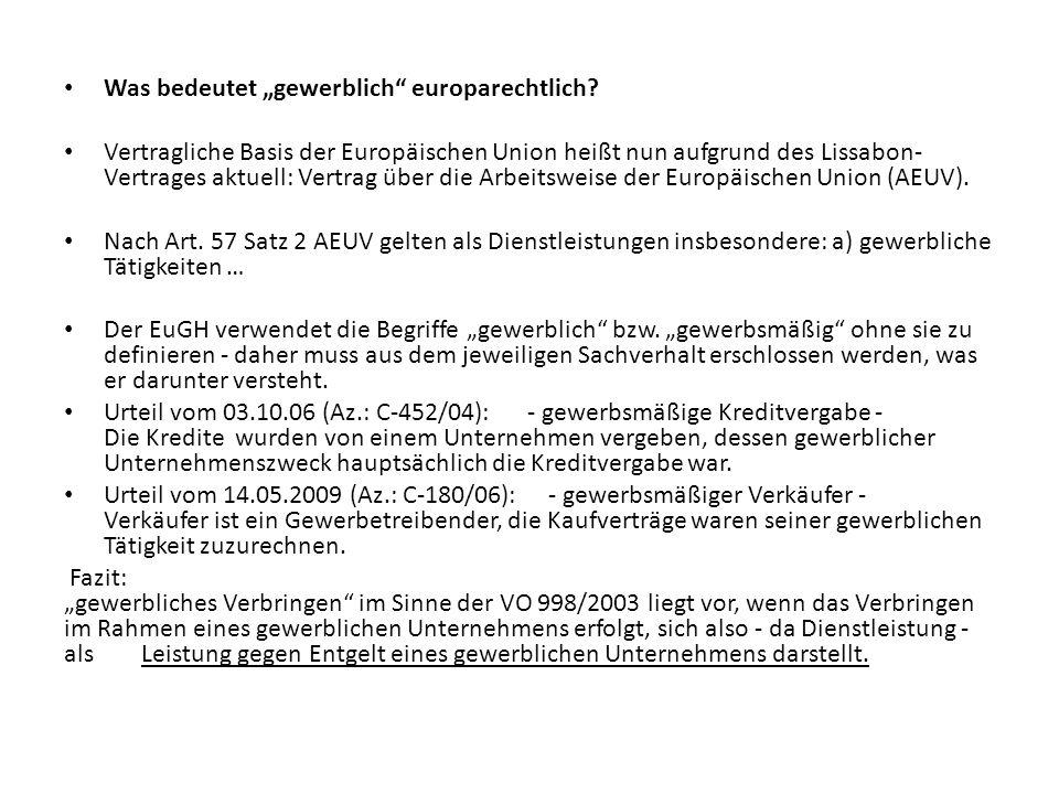 In Deutschland als gemeinnützig anerkannte Körperschaften können nicht zugleich gewerbliche Unternehmen sein Um in Deutschland als gemeinnützig anerkannt werden zu können, muss das Gebot der Selbstlosigkeit gemäß § 55 Abgabenordnung beachtet werden.