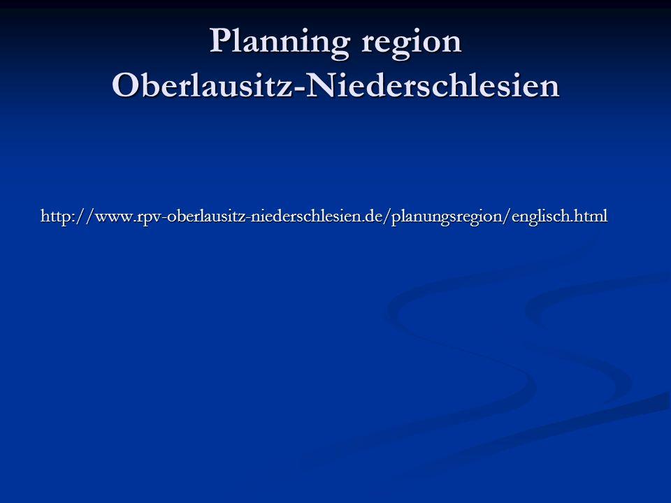 Planning region Oberlausitz-Niederschlesien http://www.rpv-oberlausitz-niederschlesien.de/planungsregion/englisch.html