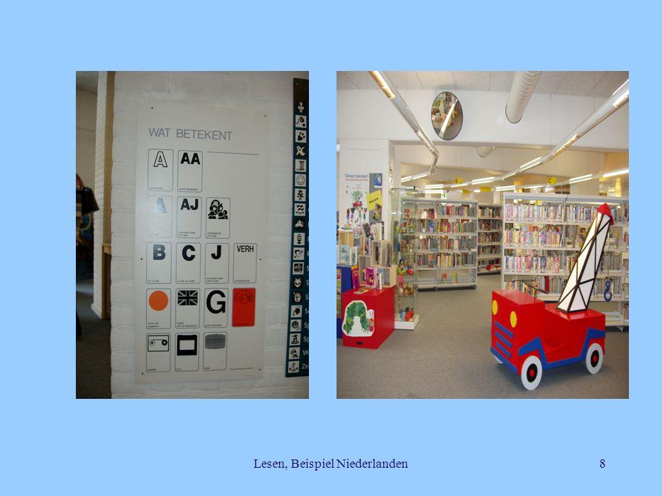 Lesen, Beispiel Niederlanden8