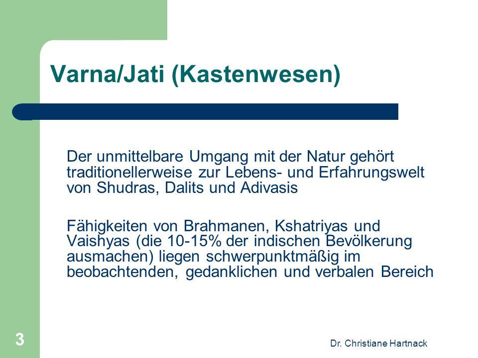 Dr.Christiane Hartnack 4 Externe Einflüsse auf indische Wissenschaftsentwicklungen Islamische (ca.